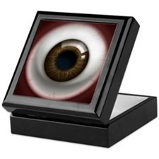 The Eye: Brown, Dark Keepsake Box