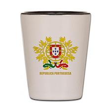 Portuguese COA Shot Glass