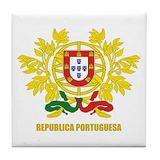 Portuguese COA Tile Coaster