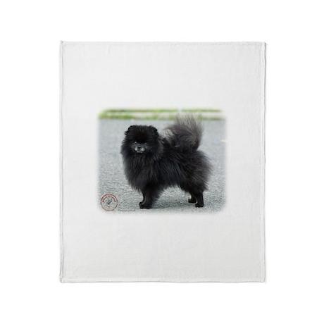 Pomeranian 9R042D-47 Throw Blanket