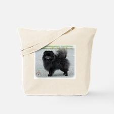 Pomeranian 9R042D-47 Tote Bag