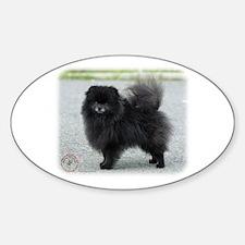Pomeranian 9R042D-47 Sticker (Oval)