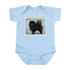 Pomeranian 9R042D-47 Infant Bodysuit