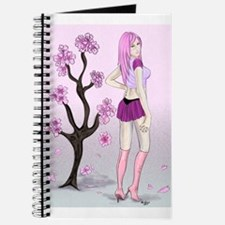 Cherry Blossom Pin-up Journal