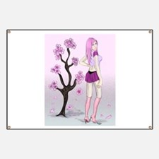 Cherry Blossom Pin-up Banner