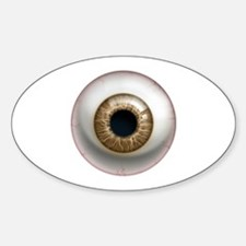 The Eye: Brown Decal