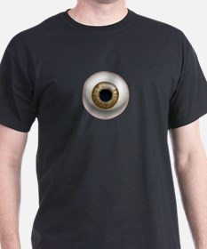 The Eye: Brown T-Shirt