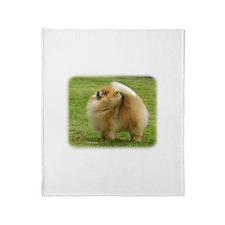 Pomeranian 9T072D-014 Throw Blanket