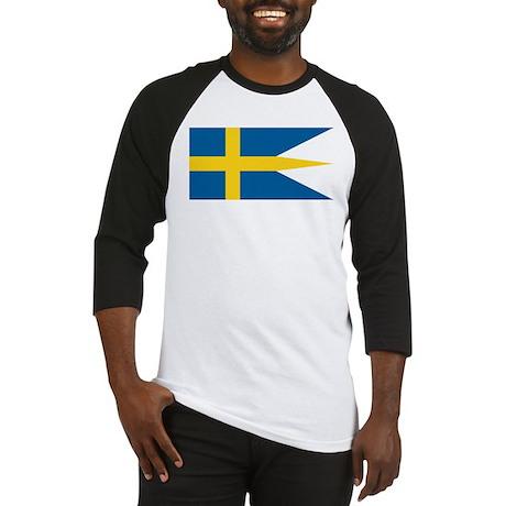 Sweden Naval Ensign Baseball Jersey