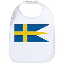 Sweden Naval Ensign Bib