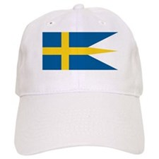Sweden Naval Ensign Baseball Cap