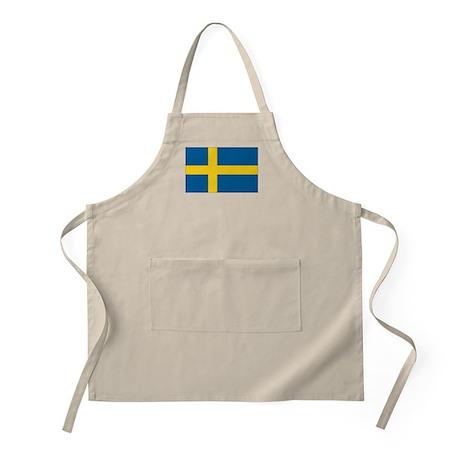 Sweden Flag BBQ Apron