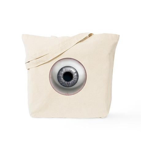 The Eye: Gray Tote Bag