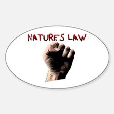 Natures Law Decal