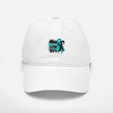 Ovarian Cancer - Brave Bitch Baseball Baseball Cap