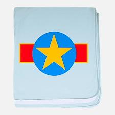 Democratic Republic of Congo baby blanket