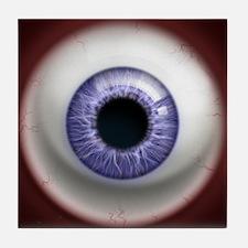 The Eye: Lavender Tile Coaster
