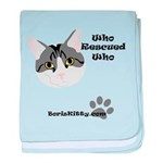 BorisKitty.com Who Rescued Wh Infant Blanket