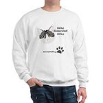 BorisKitty.com Who Rescued Wh Sweatshirt