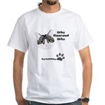 BorisKitty.com Who Rescued Wh White T-Shirt