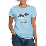 BorisKitty.com Who Rescued Wh Women's Light T-Shir