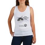 BorisKitty.com Who Rescued Wh Women's Tank Top