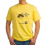 BorisKitty.com Yellow T-Shirt