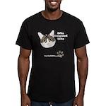 BorisKitty.com Men's Fitted T-Shirt (dark)