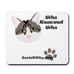 BorisKitty.com Mousepad