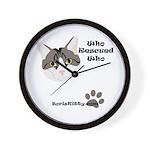 BorisKitty.com Wall Clock