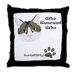 BorisKitty.com Throw Pillow