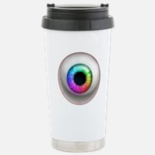 The Eye: Rainbow Travel Mug