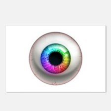The Eye: Rainbow Postcards (Package of 8)