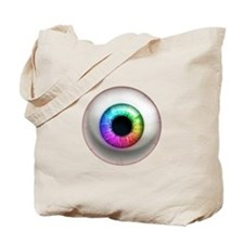 The Eye: Rainbow Tote Bag