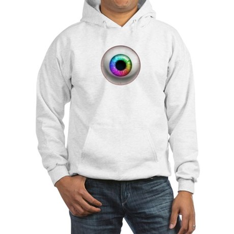 The Eye: Rainbow Hooded Sweatshirt