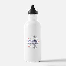 Family Tree Chart Water Bottle