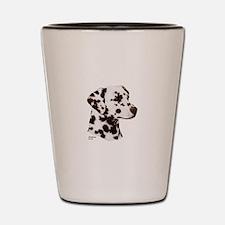 Dalmatian Shot Glass