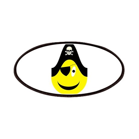 Talk Like A Pirate Yellow Smi Patches