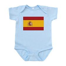 Spain State Flag Infant Creeper