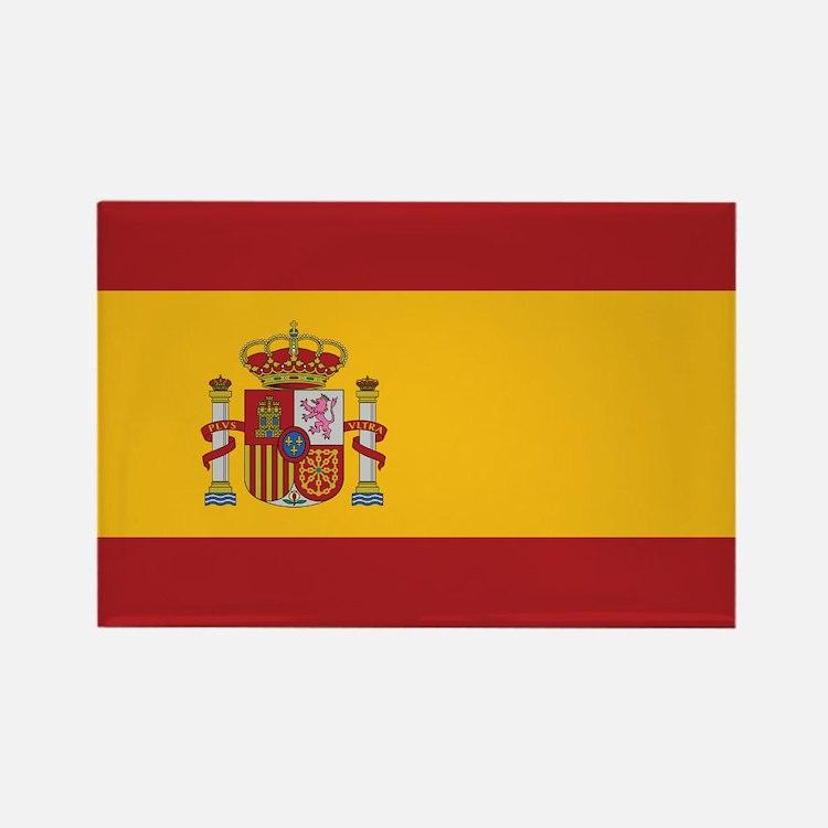 Spain State Flag Rectangle Magnet