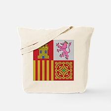 Spain Naval Jack Tote Bag