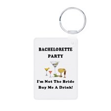 Bachelorette Party Drinks Keychains