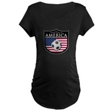 USA (2) Soccer T-Shirt