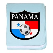 Panama Patch (Soccer) baby blanket
