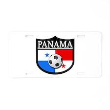 Panama Patch (Soccer) Aluminum License Plate