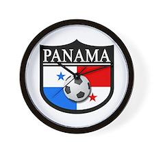 Panama Patch (Soccer) Wall Clock