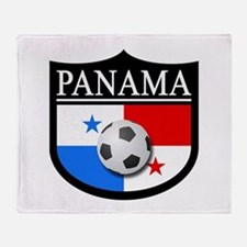 Panama Patch (Soccer) Throw Blanket