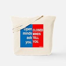 Open Mind Tote Bag