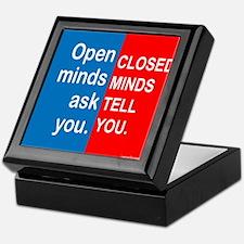 Open Mind Keepsake Box