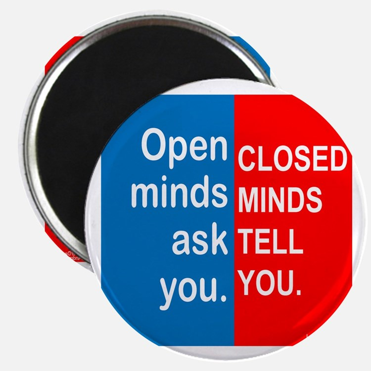 Open Mind Magnet